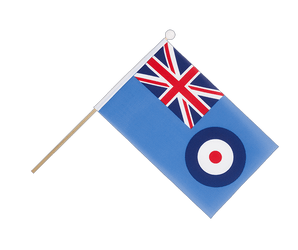 Drapeau sur hampe Royal Air Force - 15 x 22 cm