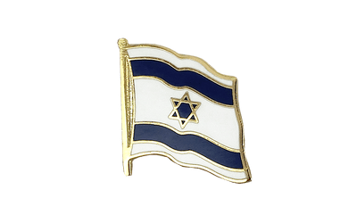 Israel Flag Lapel Pin