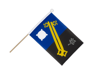 Surrey Hand Waving Flag 6x9""