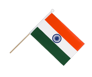 India Hand Waving Flag 6x9""