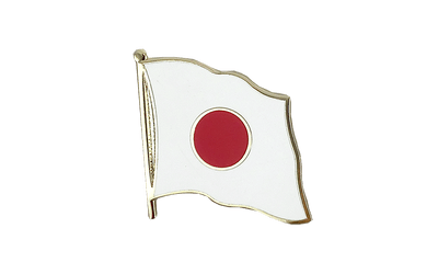 Japan Flag Lapel Pin