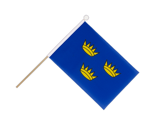 Munster Hand Waving Flag 6x9""