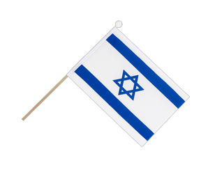 Israel Hand Waving Flag 6x9""