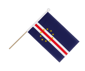 Cape Verde Hand Waving Flag 6x9""