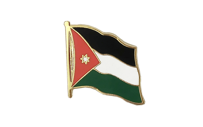 Jordan Flag Lapel Pin
