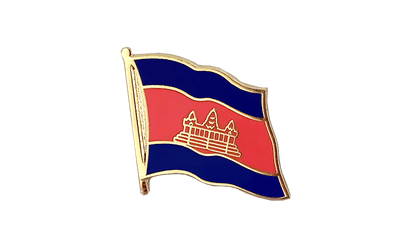 Cambodia Flag Lapel Pin