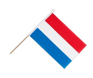 Luxembourg Hand Waving Flag 6x9""
