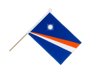 Marshall Islands Hand Waving Flag 6x9""