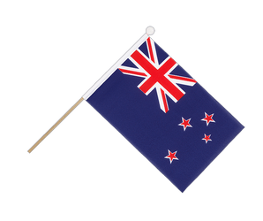 New Zealand Hand Waving Flag 6x9""