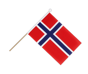 Norway - Hand Waving Flag 6x9""