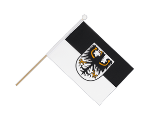 East Prussia Hand Waving Flag 6x9""