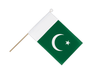 Pakistan Hand Waving Flag 6x9""
