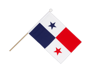 Panama Hand Waving Flag 6x9""