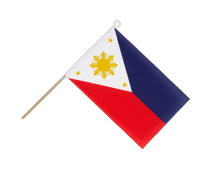 Philippines Hand Waving Flag 6x9""