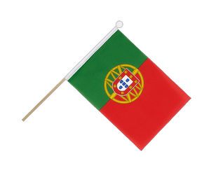 Portugal Hand Waving Flag 6x9""