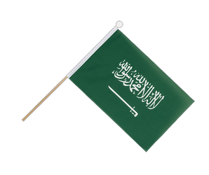 Saudi Arabia - Hand Waving Flag 6x9""