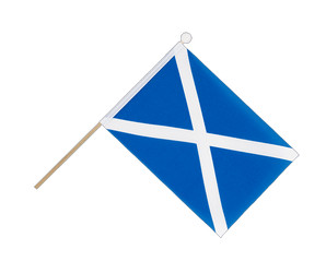 Scotland - Hand Waving Flag 6x9""