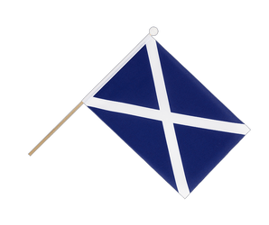 Scotland navy - Hand Waving Flag 6x9""