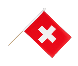 Switzerland Hand Waving Flag 6x9""