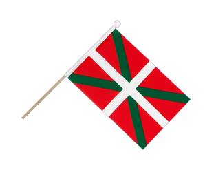 Basque country Hand Waving Flag 6x9""