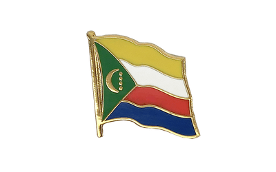 Comoros - Flag Lapel Pin