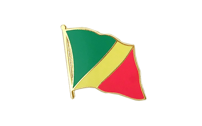 Congo Flag Lapel Pin