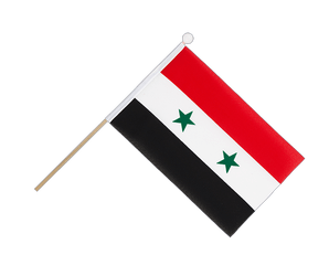 Syria - Hand Waving Flag 6x9""