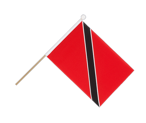 Trinidad and Tobago Hand Waving Flag 6x9""