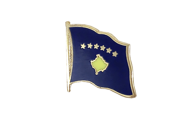 Kosovo Flag Lapel Pin