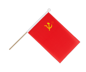 USSR Soviet Union Hand Waving Flag 6x9""
