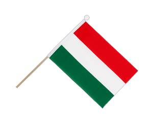 Hungary Hand Waving Flag 6x9""