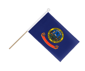 Idaho Hand Waving Flag 6x9""
