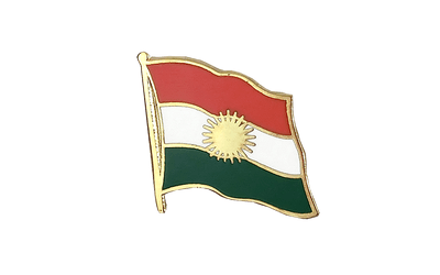 Kurdistan Flag Lapel Pin