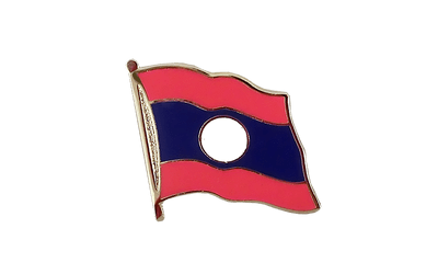 Laos - Flag Lapel Pin