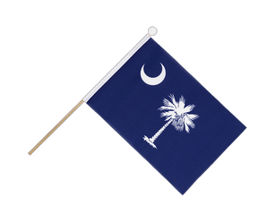 South Carolina Hand Waving Flag 6x9""