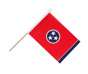 Tennessee Hand Waving Flag 6x9""