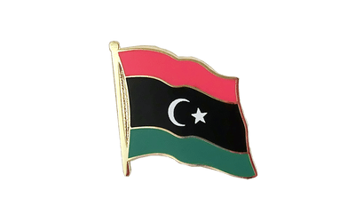 Kingdom of Libya 1951-1969 Opposition Flag Anti-Gaddafi Forces Flag Lapel Pin