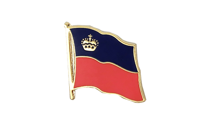 Liechtenstein Flag Lapel Pin