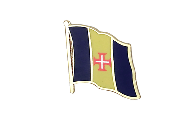 Madeira Flag Lapel Pin
