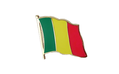 Mali Flag Lapel Pin