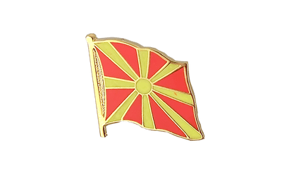 Macedonia Flag Lapel Pin