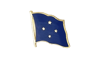 Micronesia - Flag Lapel Pin