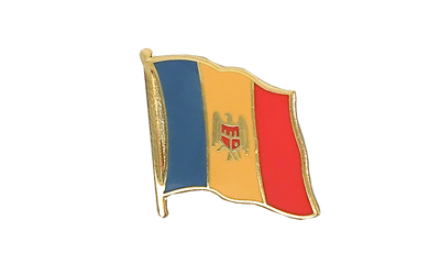 Pin's drapeau Moldavie 2 x 2 cm