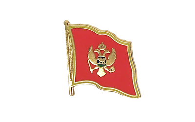 Montenegro Flag Lapel Pin