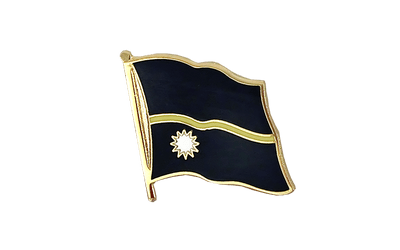 Nauru Flag Lapel Pin