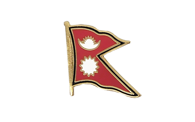 Nepal Flag Lapel Pin