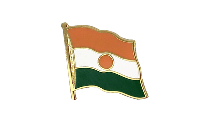 Niger Flag Lapel Pin