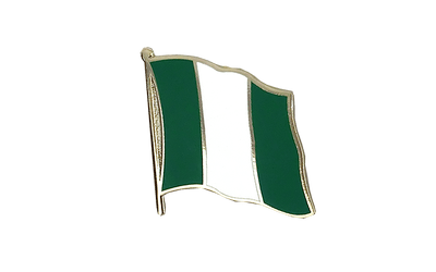 Nigeria Flag Lapel Pin