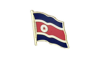 North corea Flag Lapel Pin