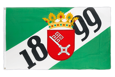 Bremen 1899 - 3x5 ft Flag